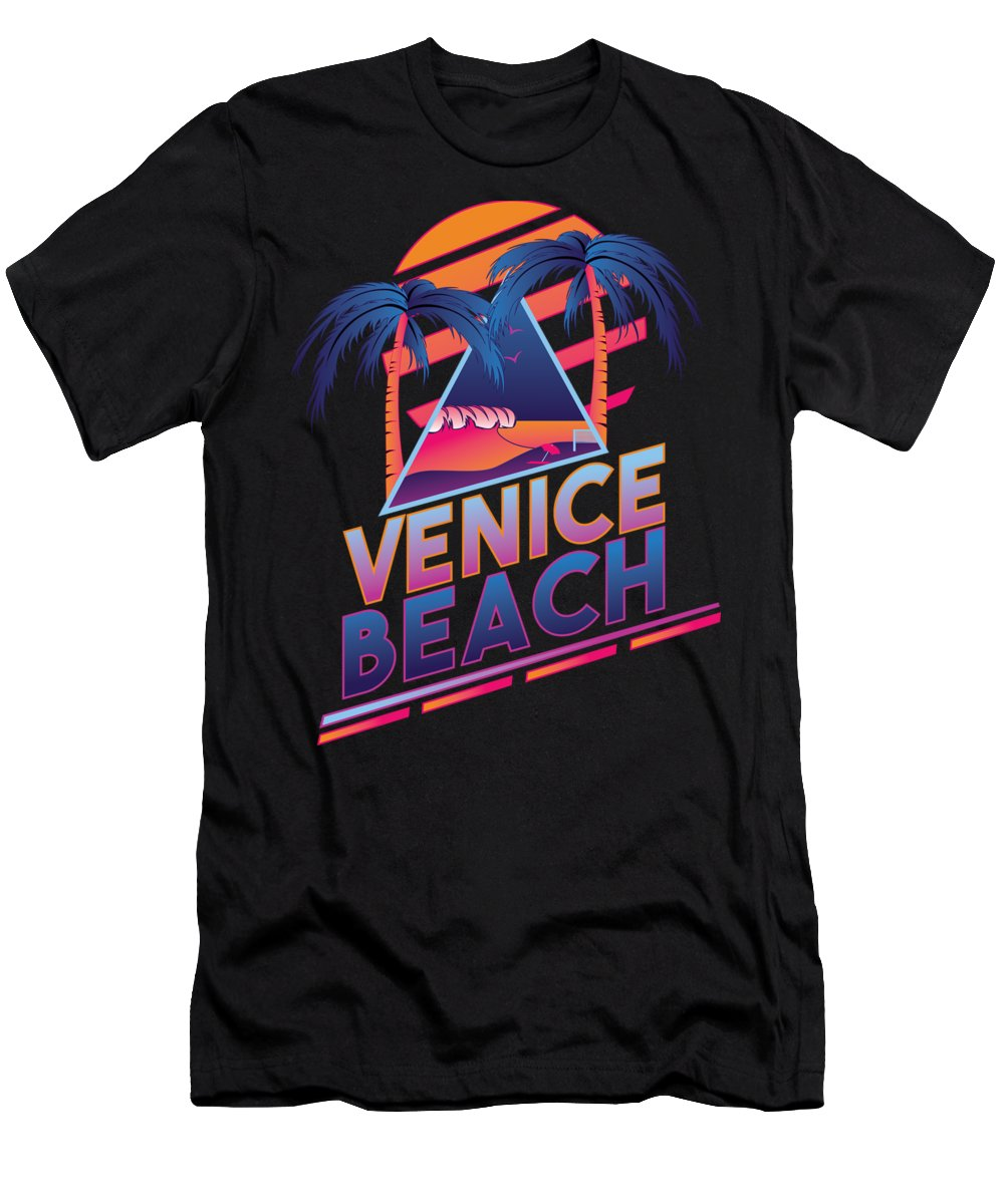 Venice Beach Slim Fit T-Shirts