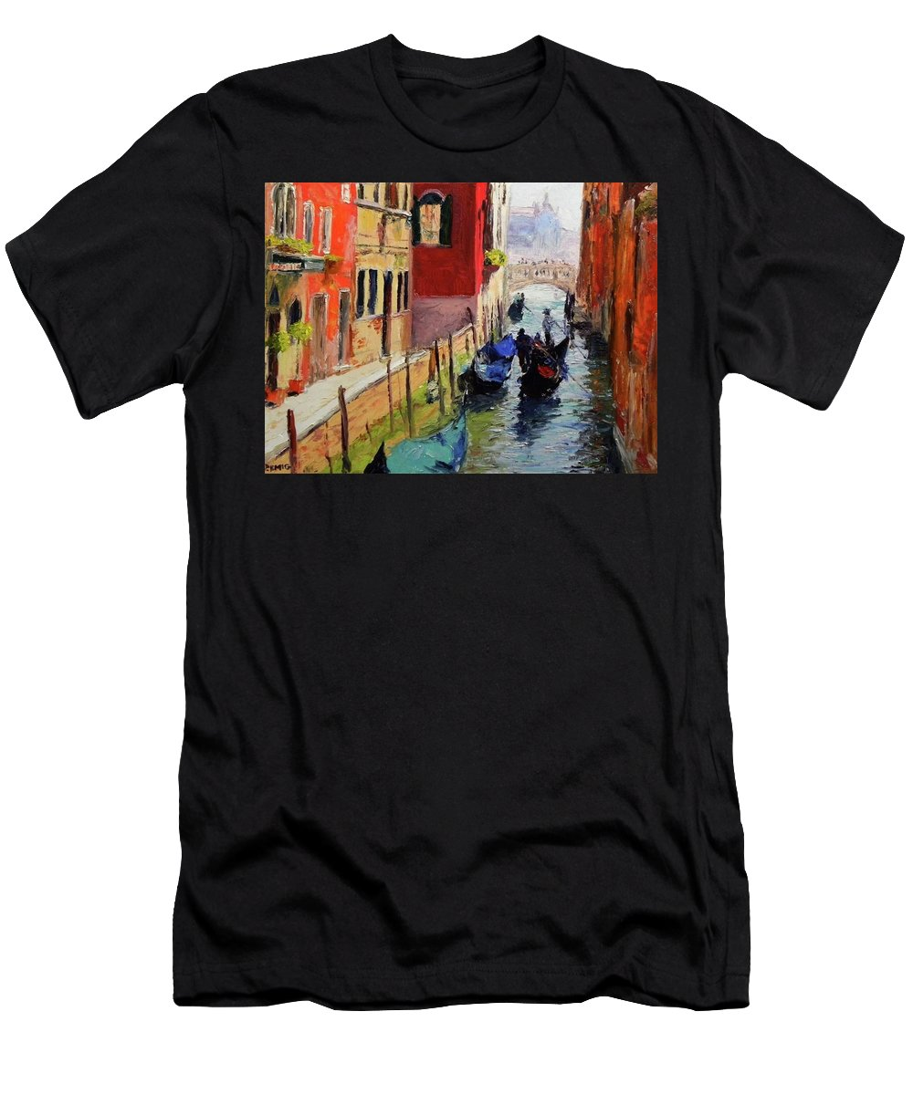 Venice T-Shirt featuring the painting Venice by Paul Emig