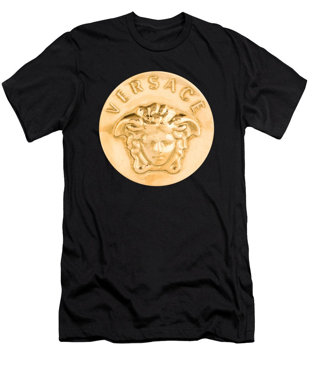 Versace Men's T-Shirt (Athletic Fit) featuring the painting Versace Jewelry-1 by Nikita