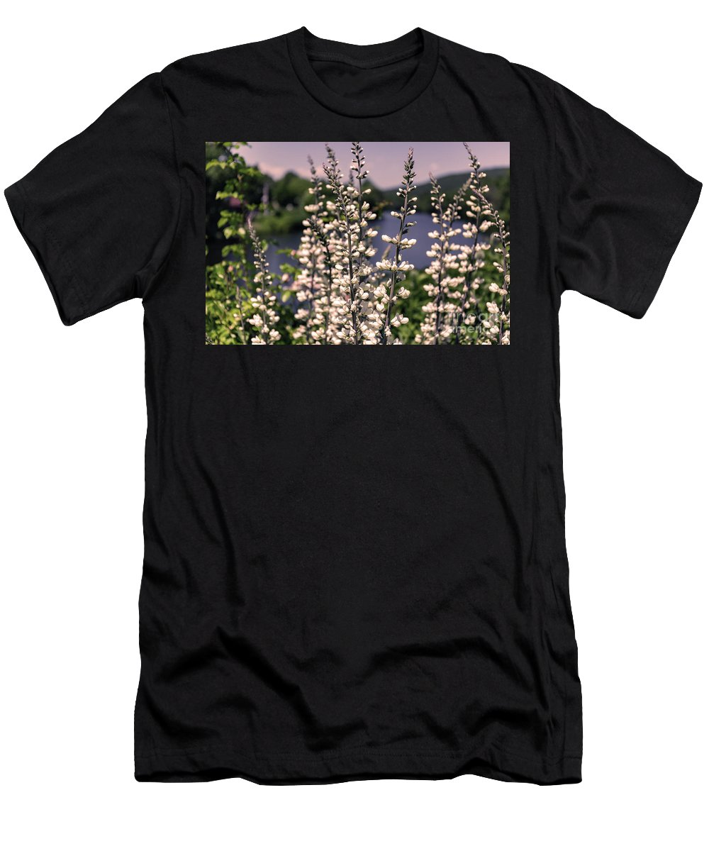 Bridge Of Flowers Men's T-Shirt (Athletic Fit) featuring the photograph View From The Bridge Of Flowers by Bruce Coulter