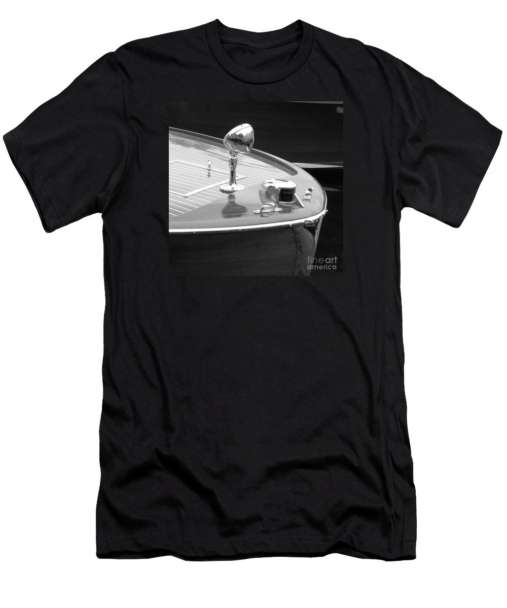 Chris Craft Men's T-Shirt (Athletic Fit) featuring the photograph C.c. Utility by Neil Zimmerman
