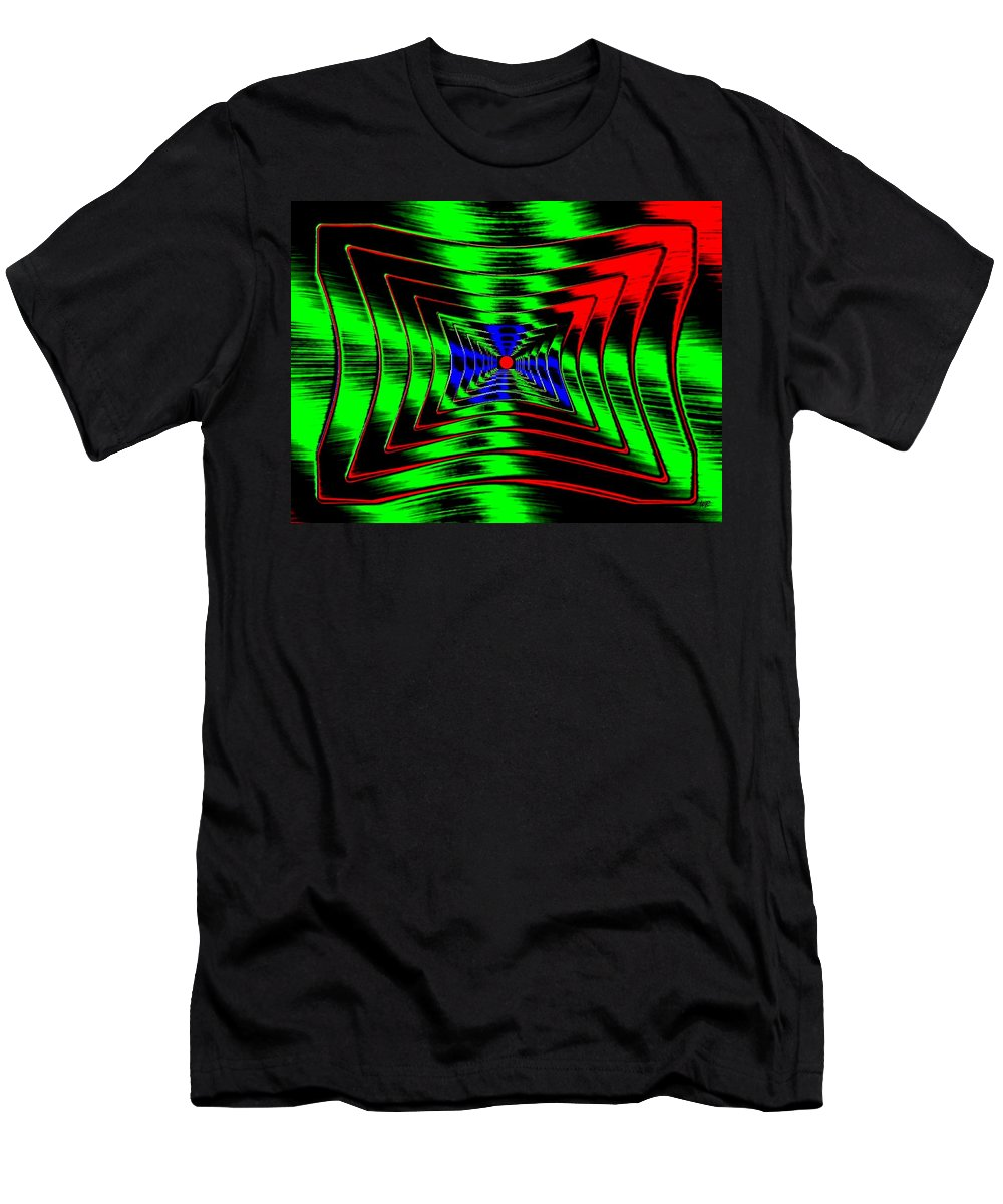 Energizing Men's T-Shirt (Athletic Fit) featuring the digital art Vim And Vigor by Will Borden
