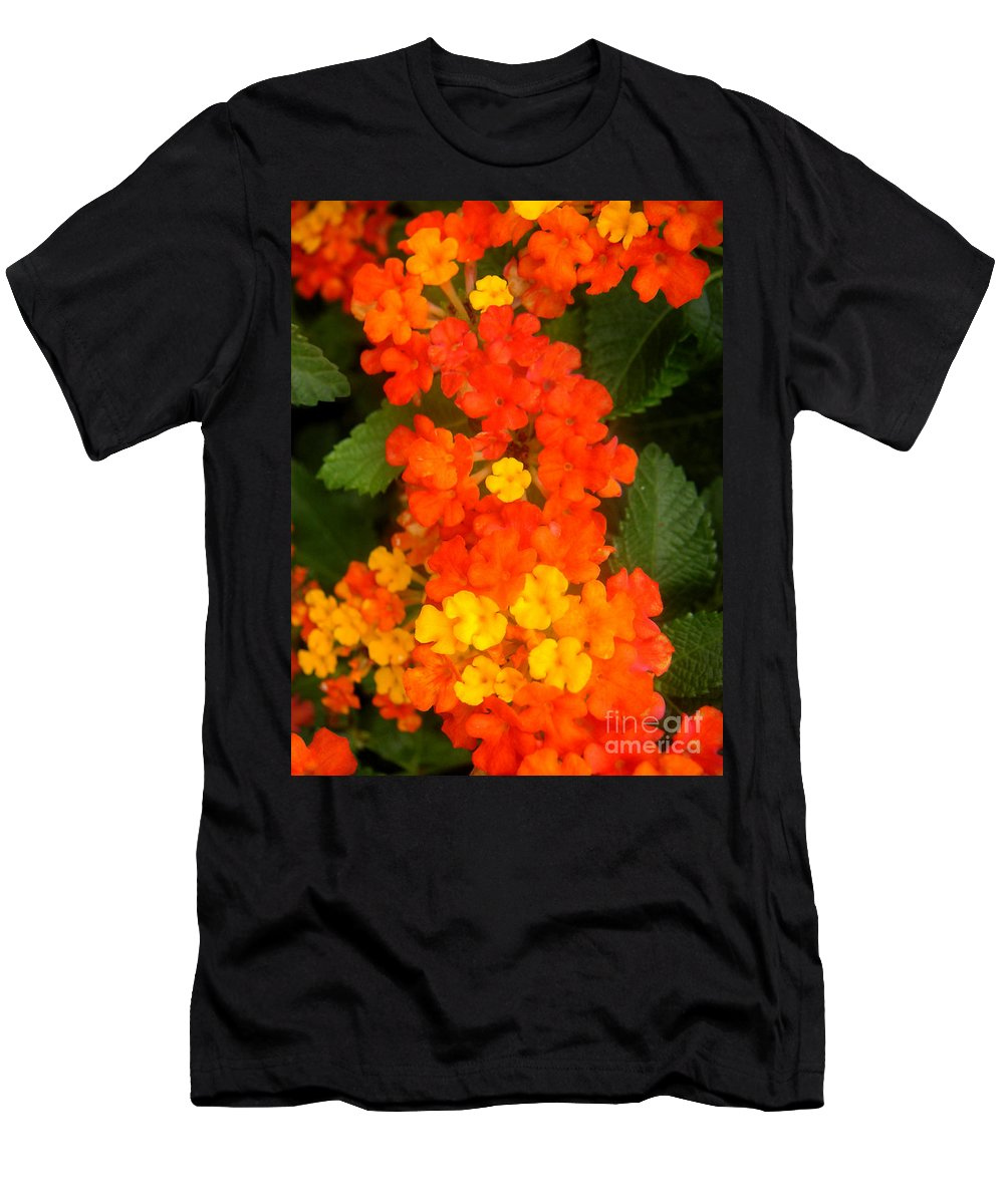 Nature Men's T-Shirt (Athletic Fit) featuring the photograph Volcanic Display by Lucyna A M Green