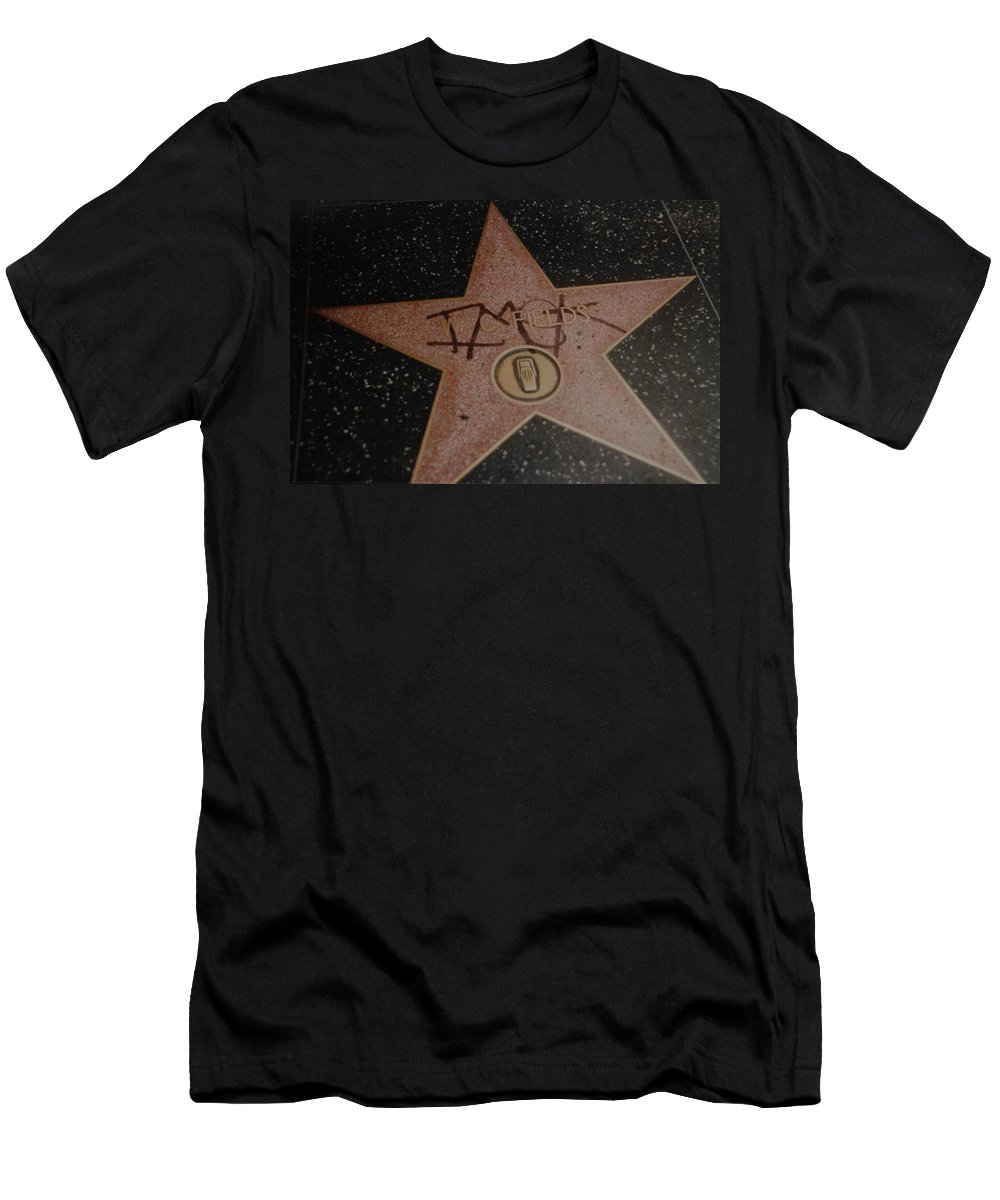 Hollywood T-Shirt featuring the photograph W C Fields Star by Rob Hans