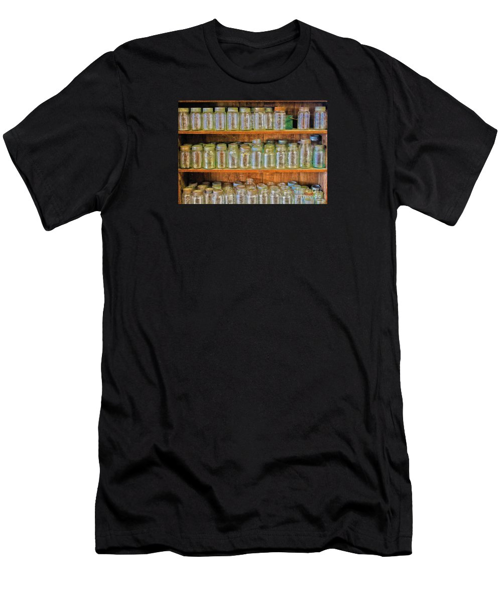 Vintage Men's T-Shirt (Athletic Fit) featuring the photograph Waiting For Canning Time by Nina Silver