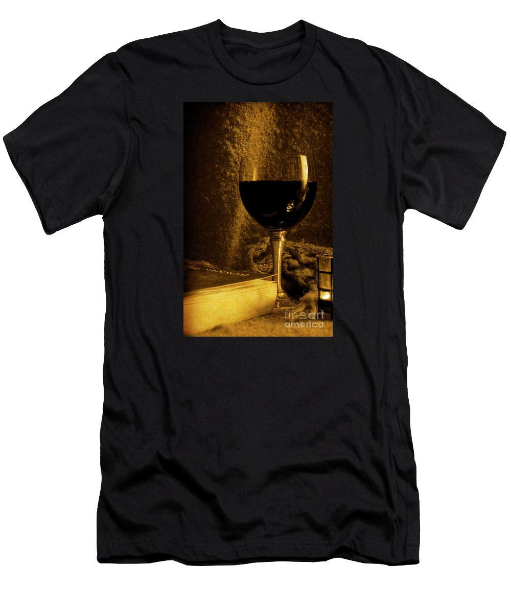 Festblues Men's T-Shirt (Athletic Fit) featuring the photograph Waiting For Summer... by Nina Stavlund