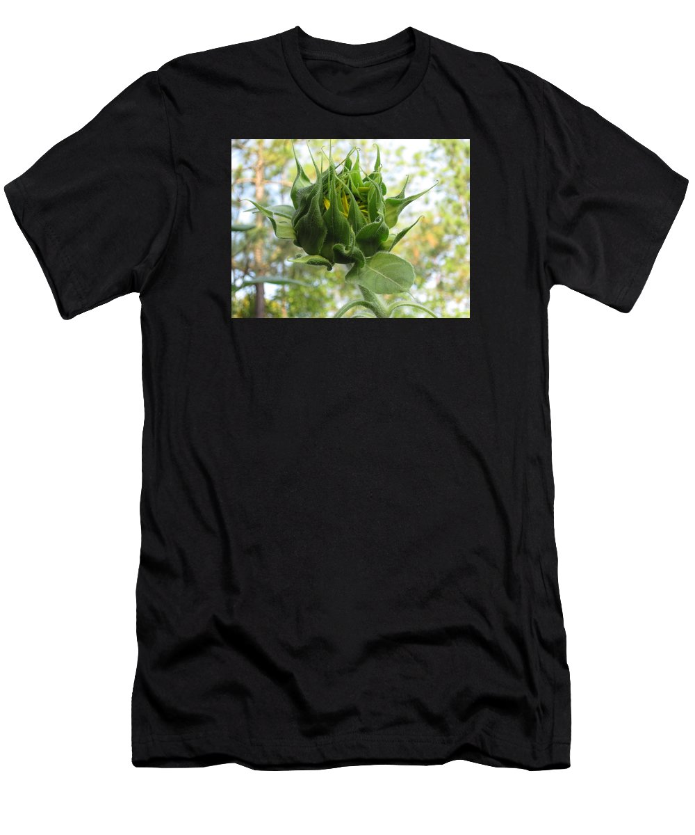 Bud Men's T-Shirt (Athletic Fit) featuring the photograph Waiting To Shine by David Sutter