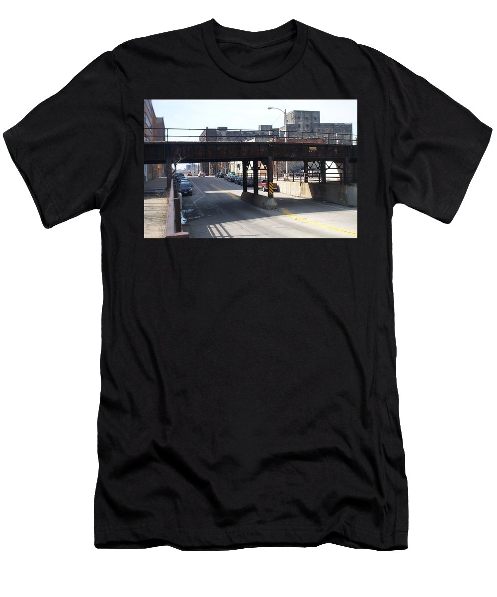 Walker's Point Men's T-Shirt (Athletic Fit) featuring the photograph Walker's Point 4 by Anita Burgermeister