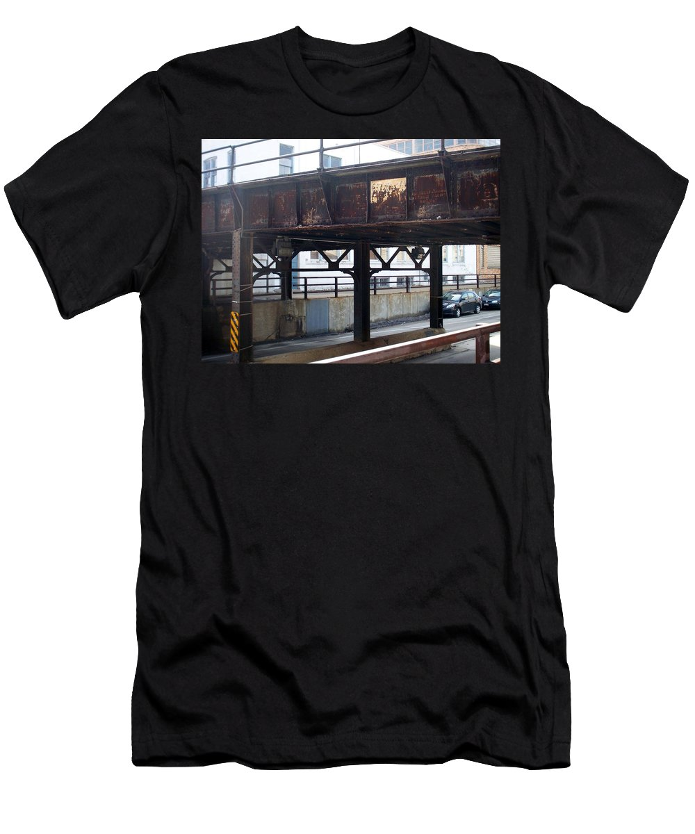 Walker's Point Men's T-Shirt (Athletic Fit) featuring the photograph Walker's Point 5 by Anita Burgermeister
