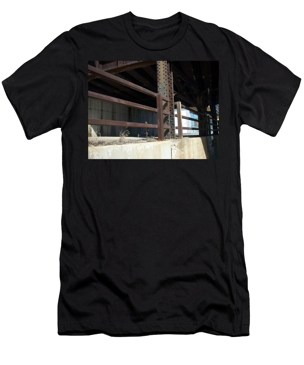 Walker's Point Men's T-Shirt (Athletic Fit) featuring the photograph Walker's Point 8 by Anita Burgermeister