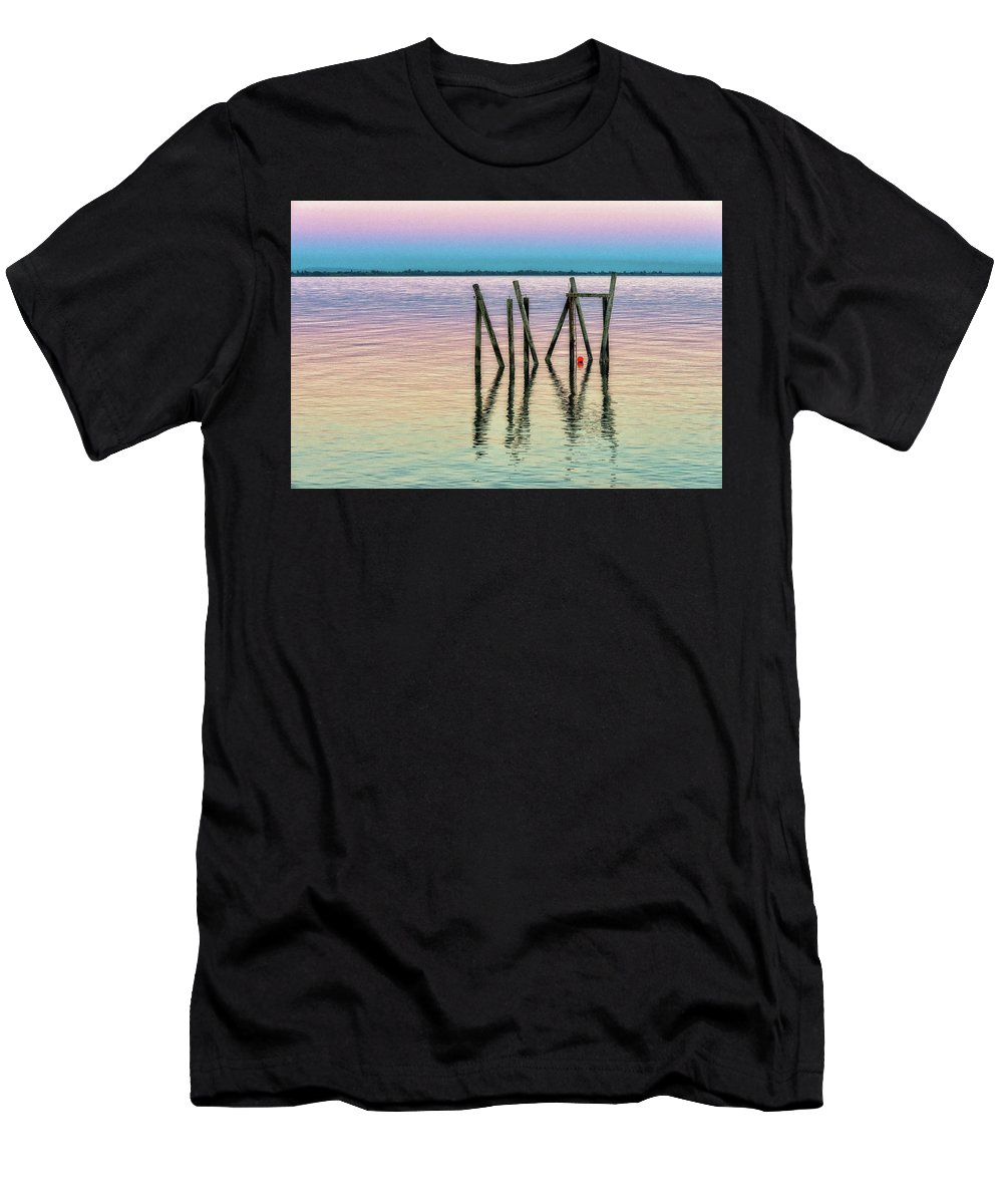 # Art Decor Men's T-Shirt (Athletic Fit) featuring the photograph Water Reflections 2017 by Anka Wong