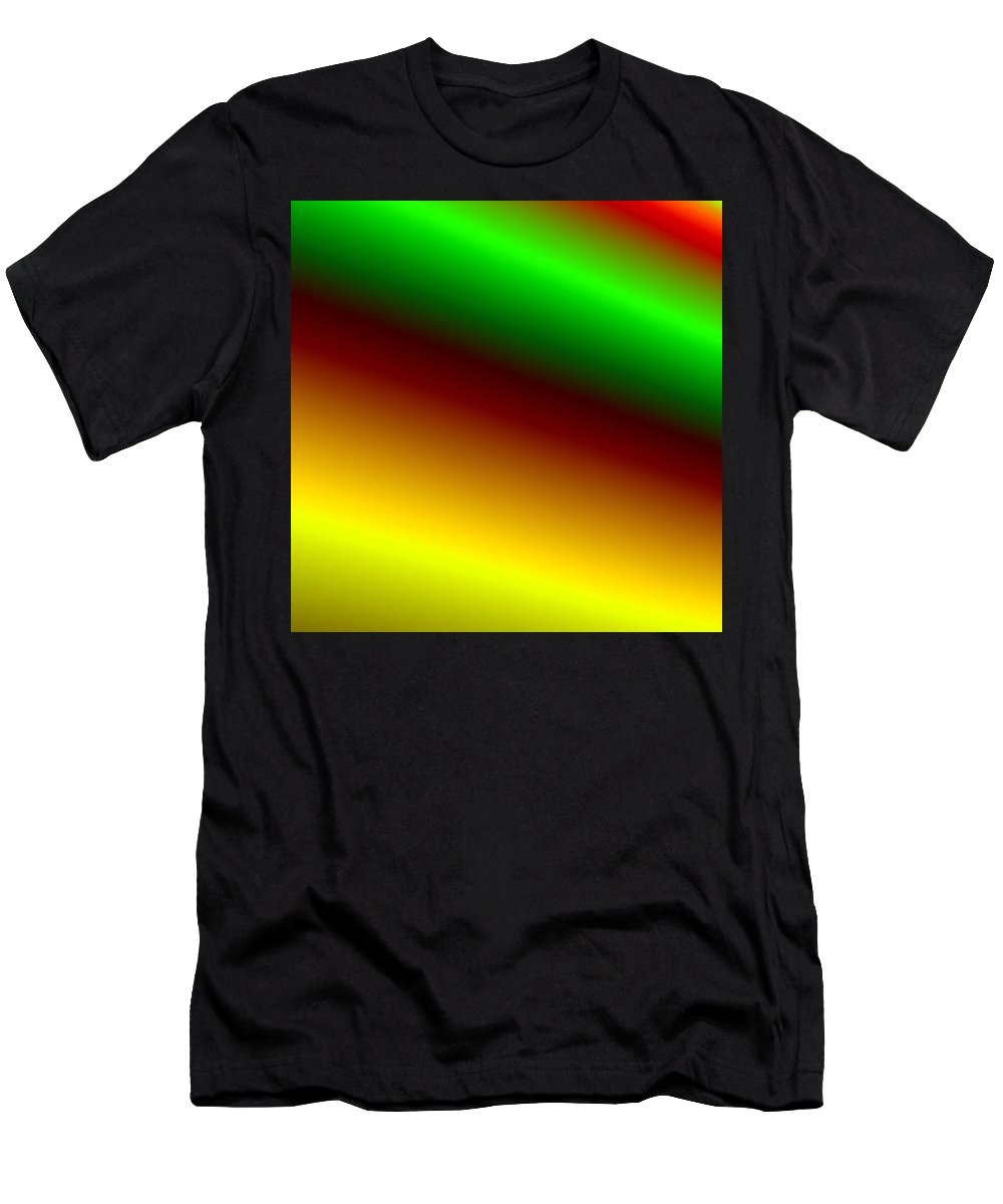 Digital Art Men's T-Shirt (Athletic Fit) featuring the digital art way IV by Dragica Micki Fortuna