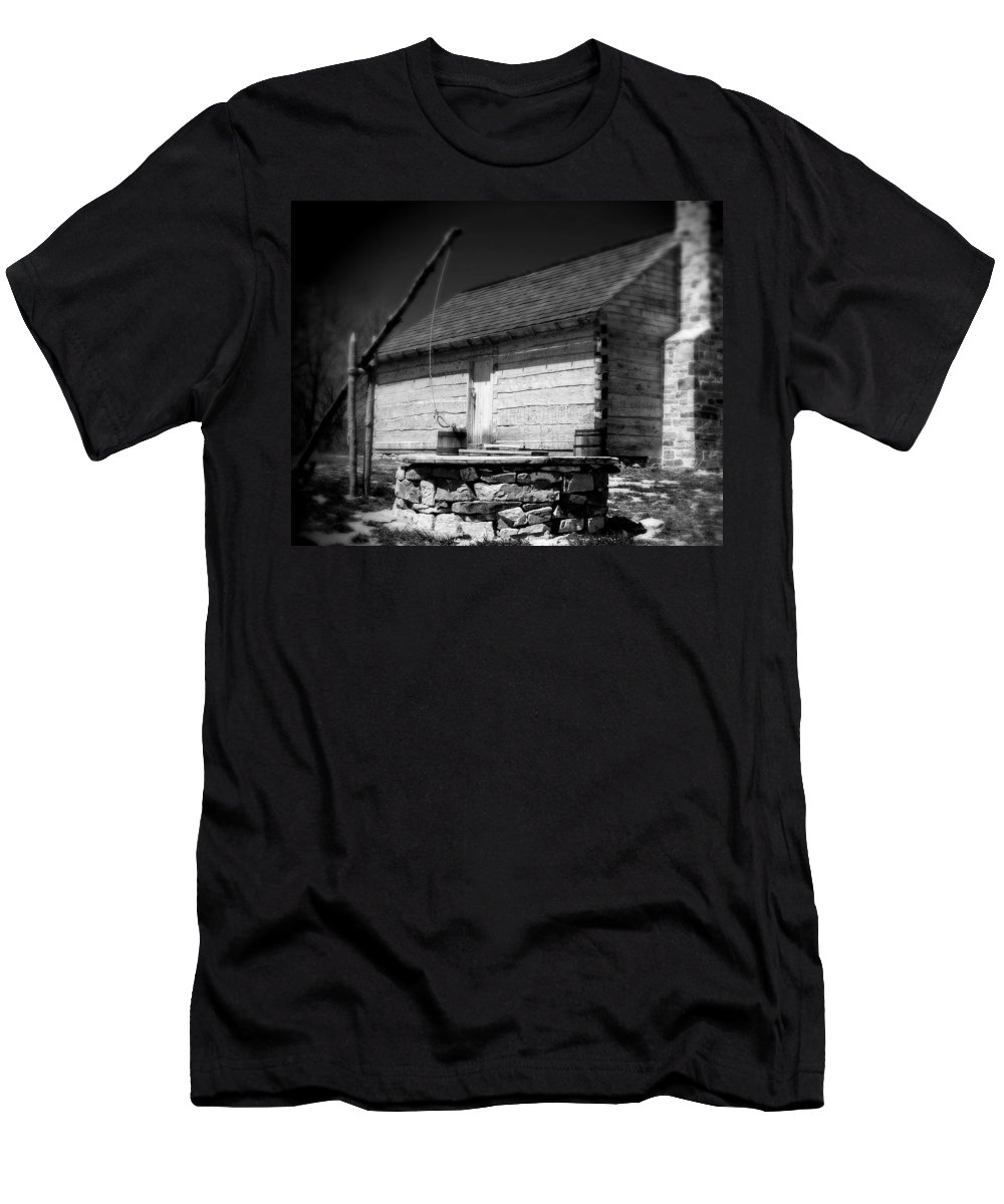 Army Men's T-Shirt (Athletic Fit) featuring the photograph Way Station French And Indian War by Jean Macaluso
