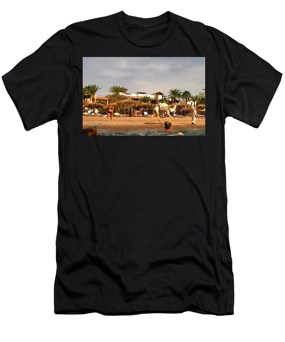 Egypt Men's T-Shirt (Athletic Fit) featuring the photograph Weak Transport... by Yuri Hope