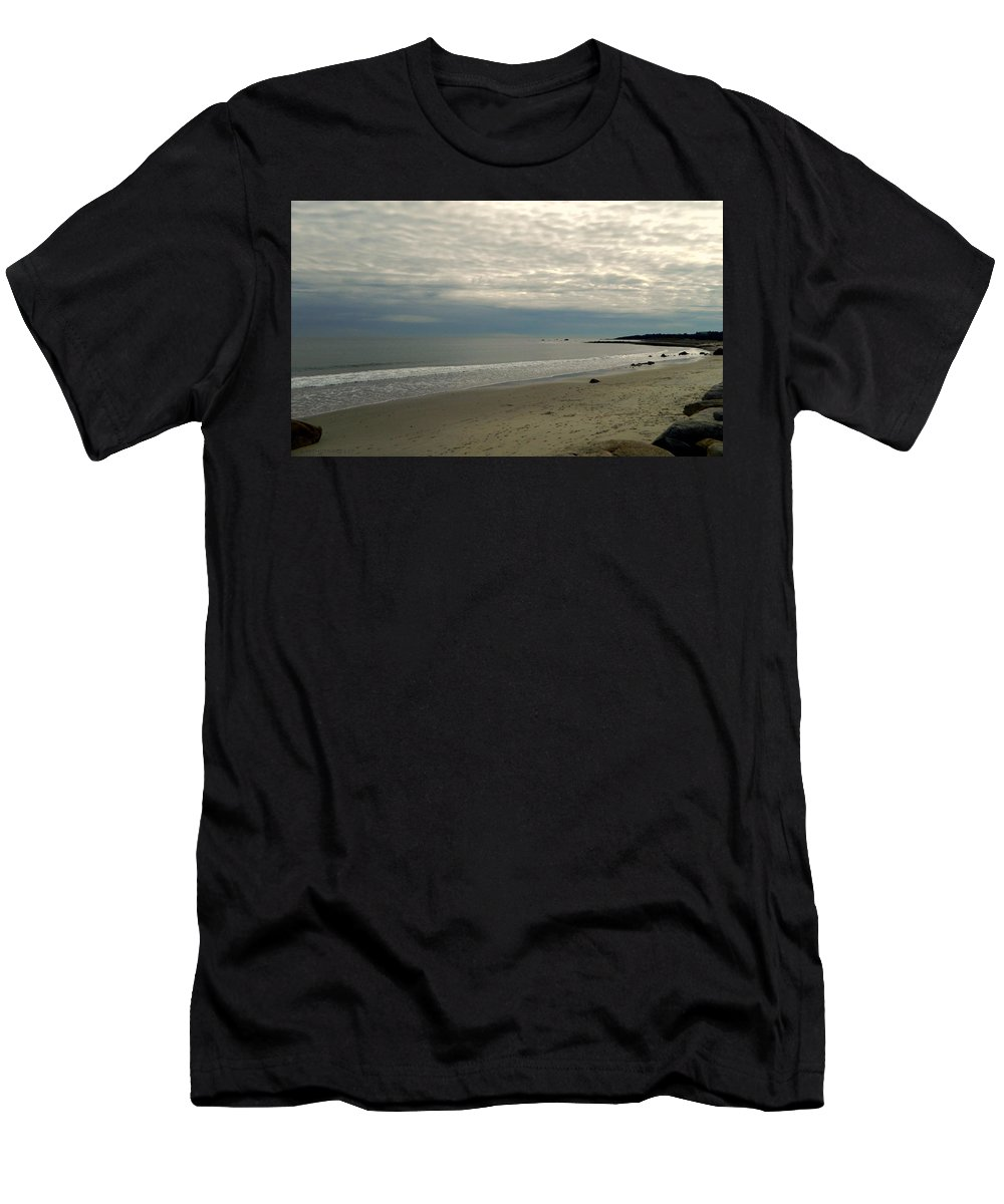 Martha's Vineyard Men's T-Shirt (Athletic Fit) featuring the photograph Weather Change by Kathy Barney