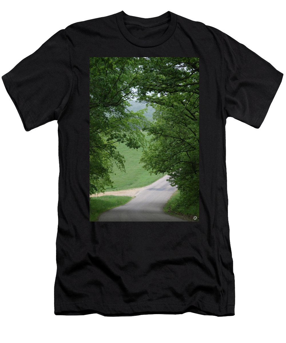 Welcome To Men's T-Shirt (Athletic Fit) featuring the photograph Welcome by Bjorn Sjogren