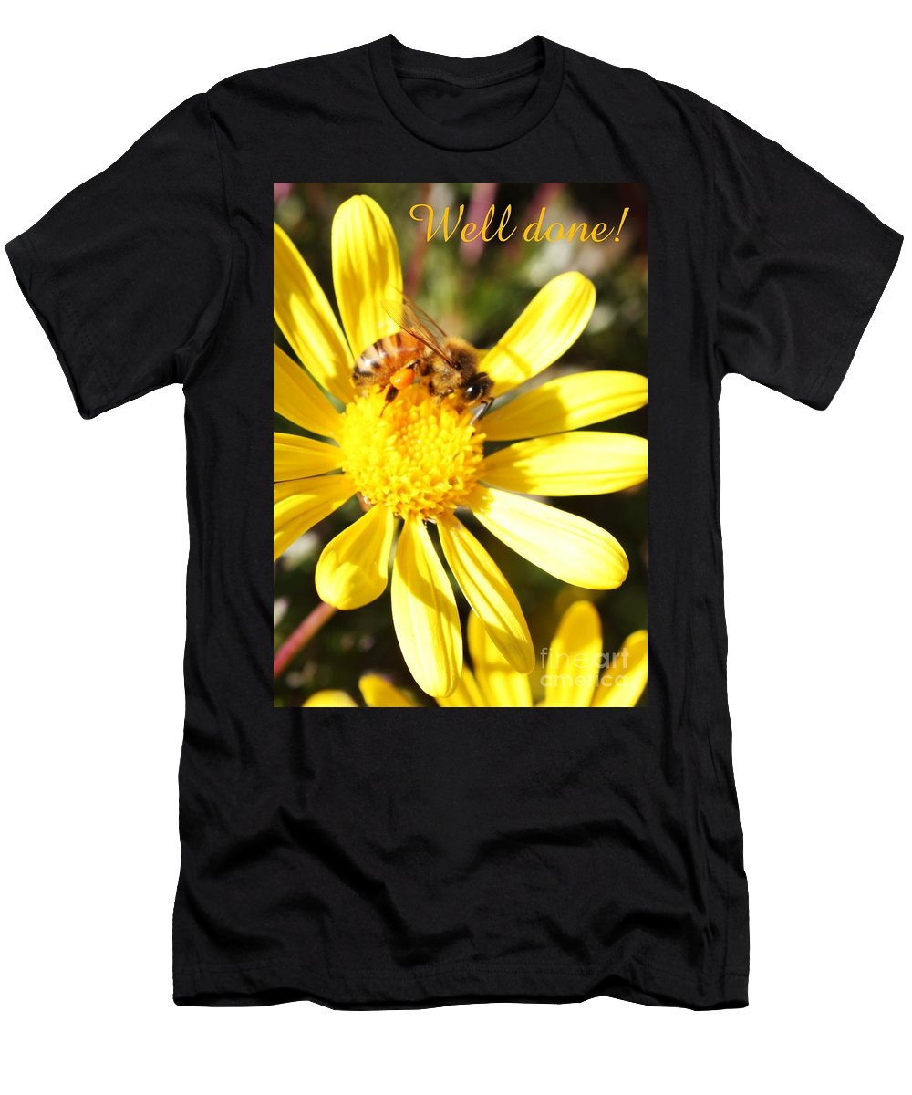 Card Men's T-Shirt (Athletic Fit) featuring the photograph Well Done Card by Carol Groenen