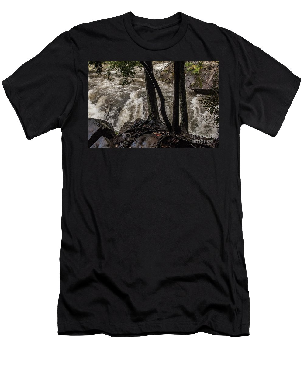 Little Men's T-Shirt (Athletic Fit) featuring the photograph When The Rains Came by Bernd Billmayer