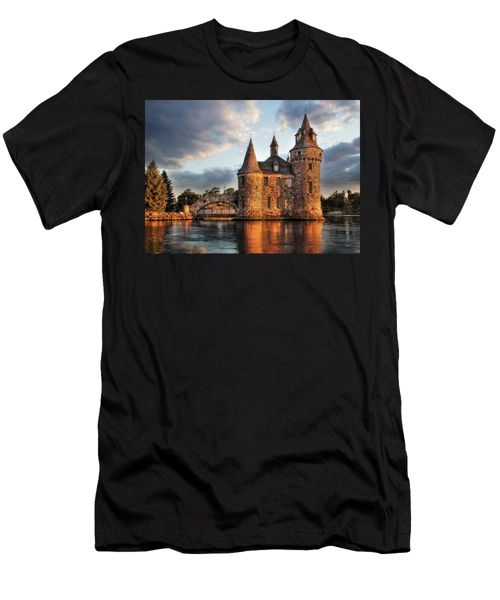 Thousand Islands Men's T-Shirt (Athletic Fit) featuring the photograph Where Time Stands Still by Lori Deiter