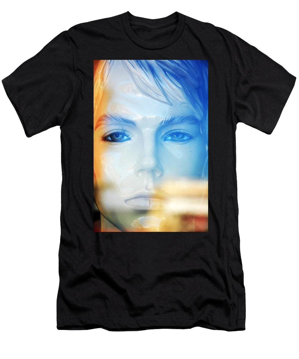 Dahar Men's T-Shirt (Athletic Fit) featuring the photograph Whims by Jez C Self