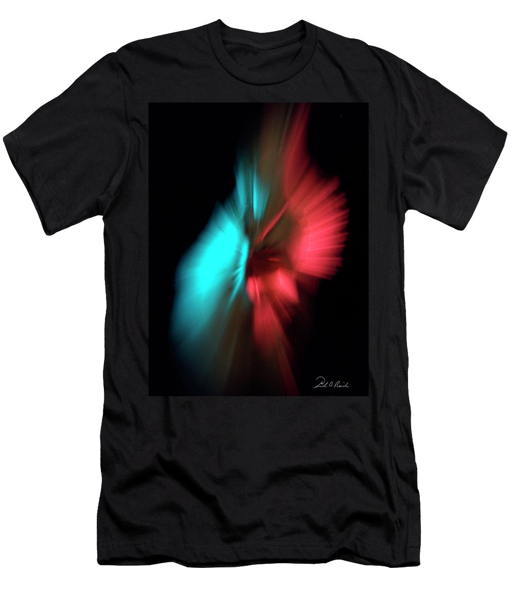 Photography Men's T-Shirt (Athletic Fit) featuring the photograph Whirling Dervish by Frederic A Reinecke