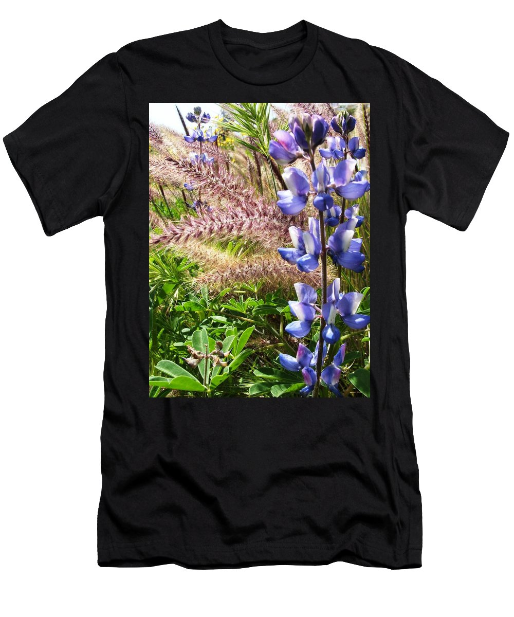 Flower Men's T-Shirt (Athletic Fit) featuring the photograph Wild Flower by Shari Chavira