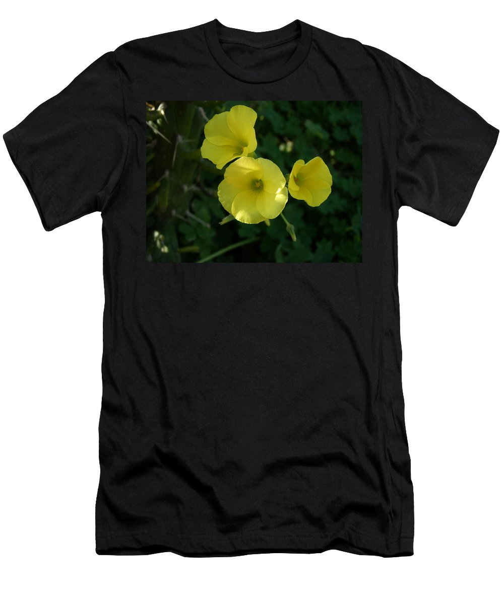 Nature Men's T-Shirt (Athletic Fit) featuring the photograph Wild Flowers by Maria Woithofer