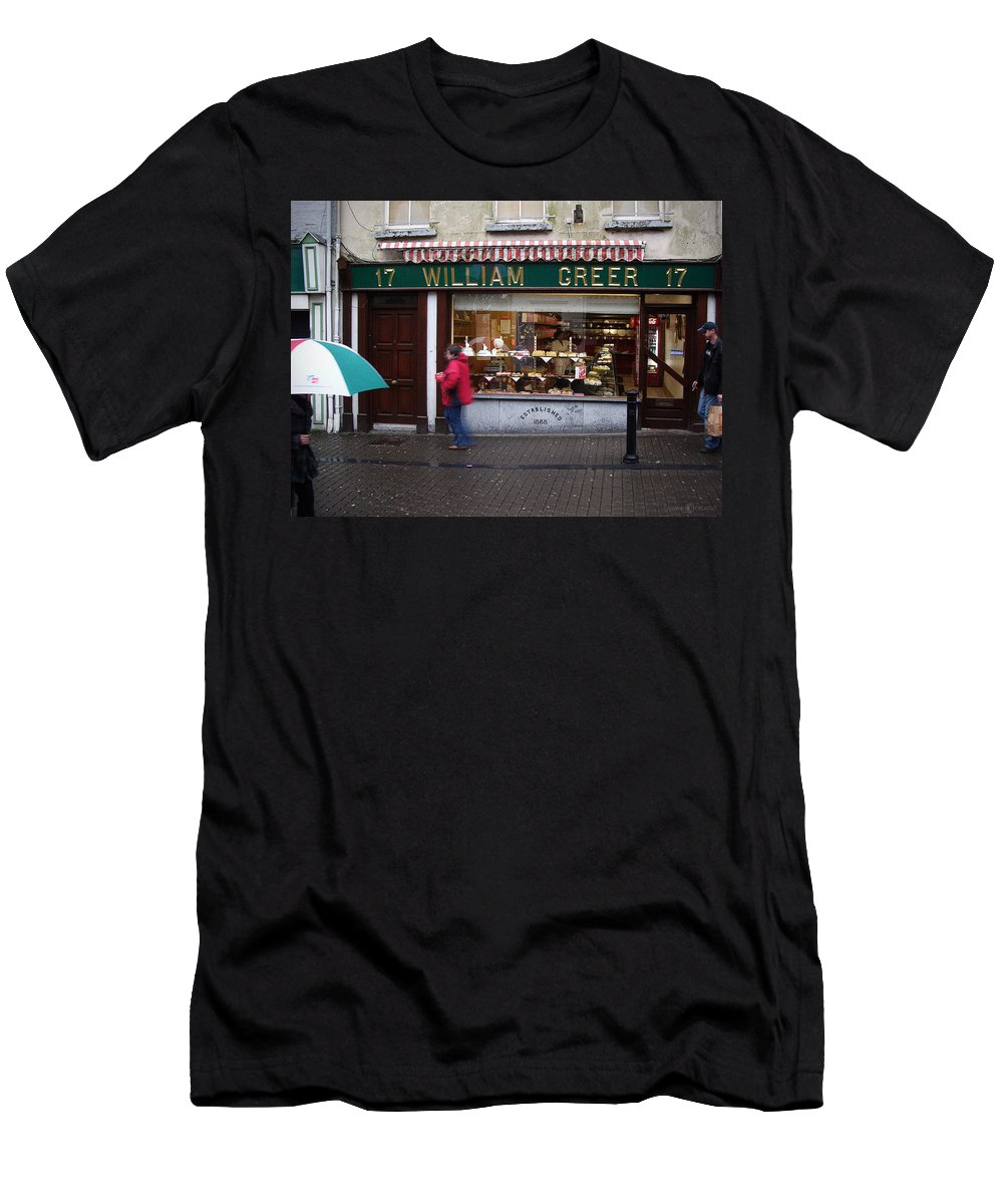 Ireland Men's T-Shirt (Athletic Fit) featuring the photograph William Greer by Tim Nyberg
