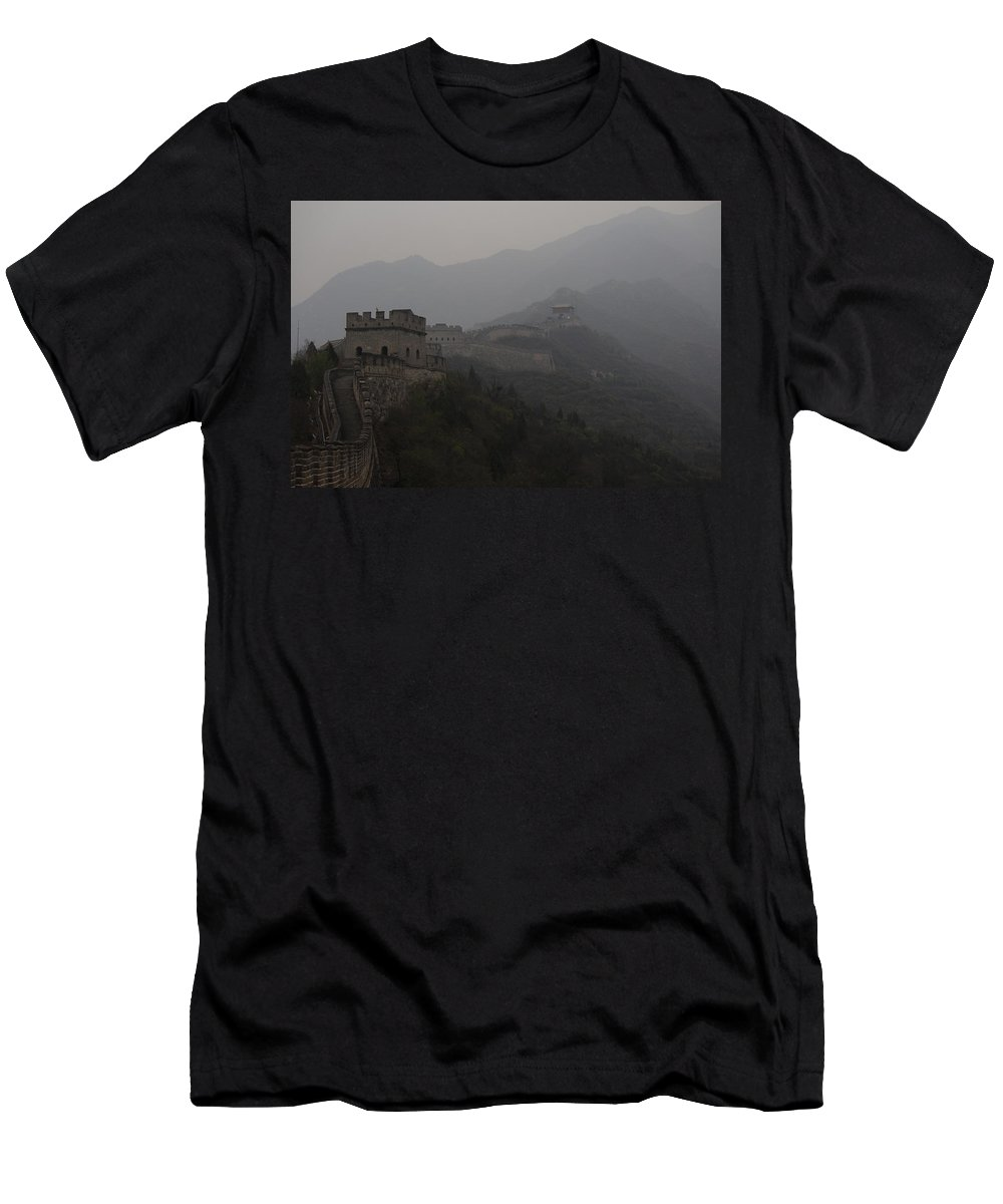 Travel Men's T-Shirt (Athletic Fit) featuring the photograph Winding Dragon by Trevor Sciara
