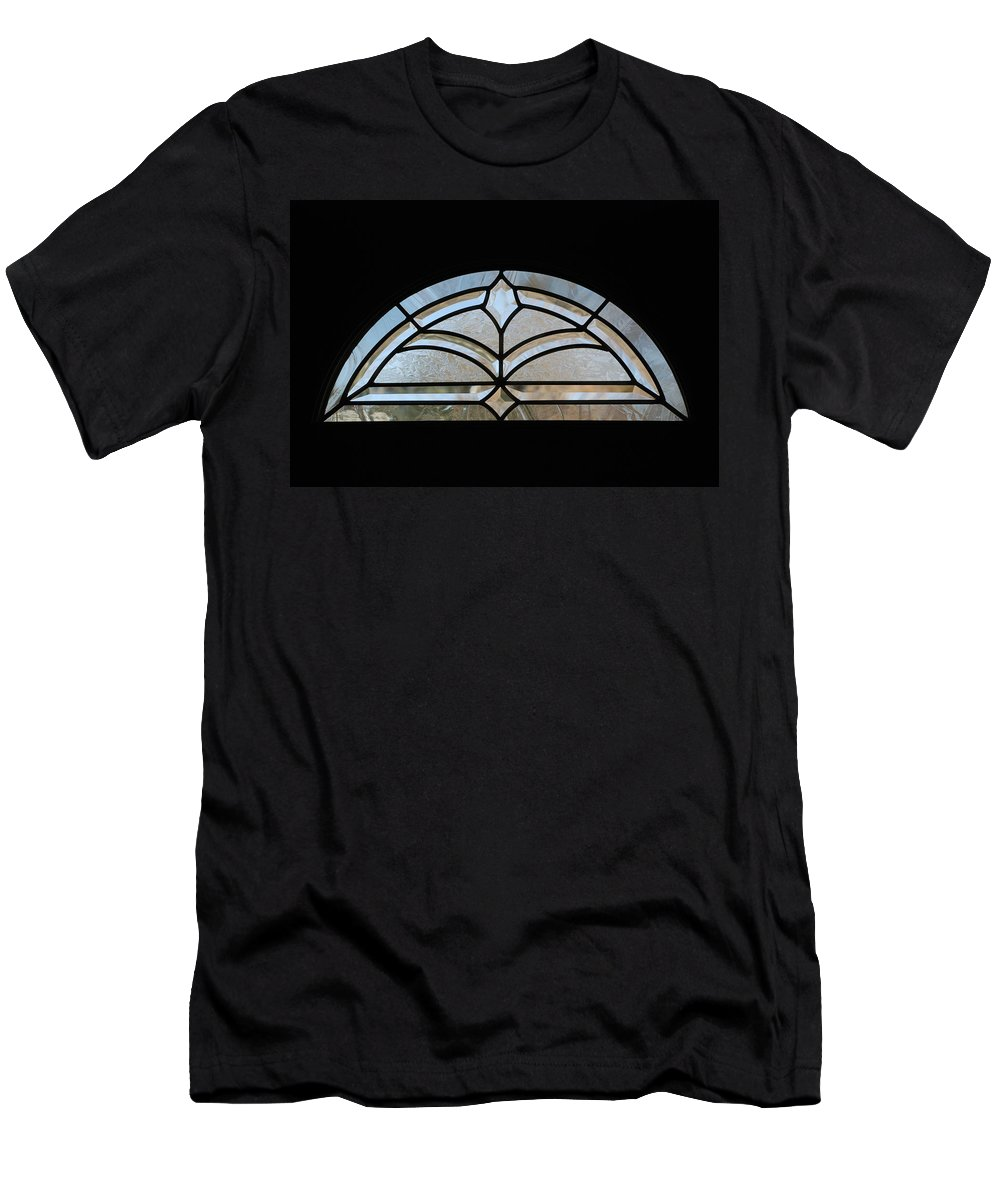 Window Men's T-Shirt (Athletic Fit) featuring the photograph Window To The World by Rob Hans