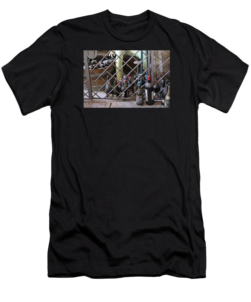 Wine Men's T-Shirt (Athletic Fit) featuring the photograph Wine Wine Wine by Salvatore Gabrielli