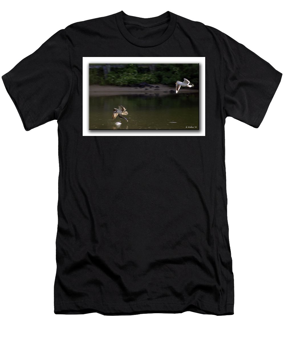 2d Men's T-Shirt (Athletic Fit) featuring the photograph Wingman by Brian Wallace