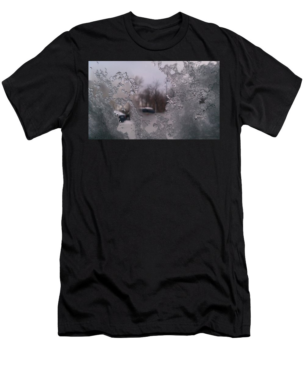 Winter Men's T-Shirt (Athletic Fit) featuring the photograph Winter View by Christina Zizzo