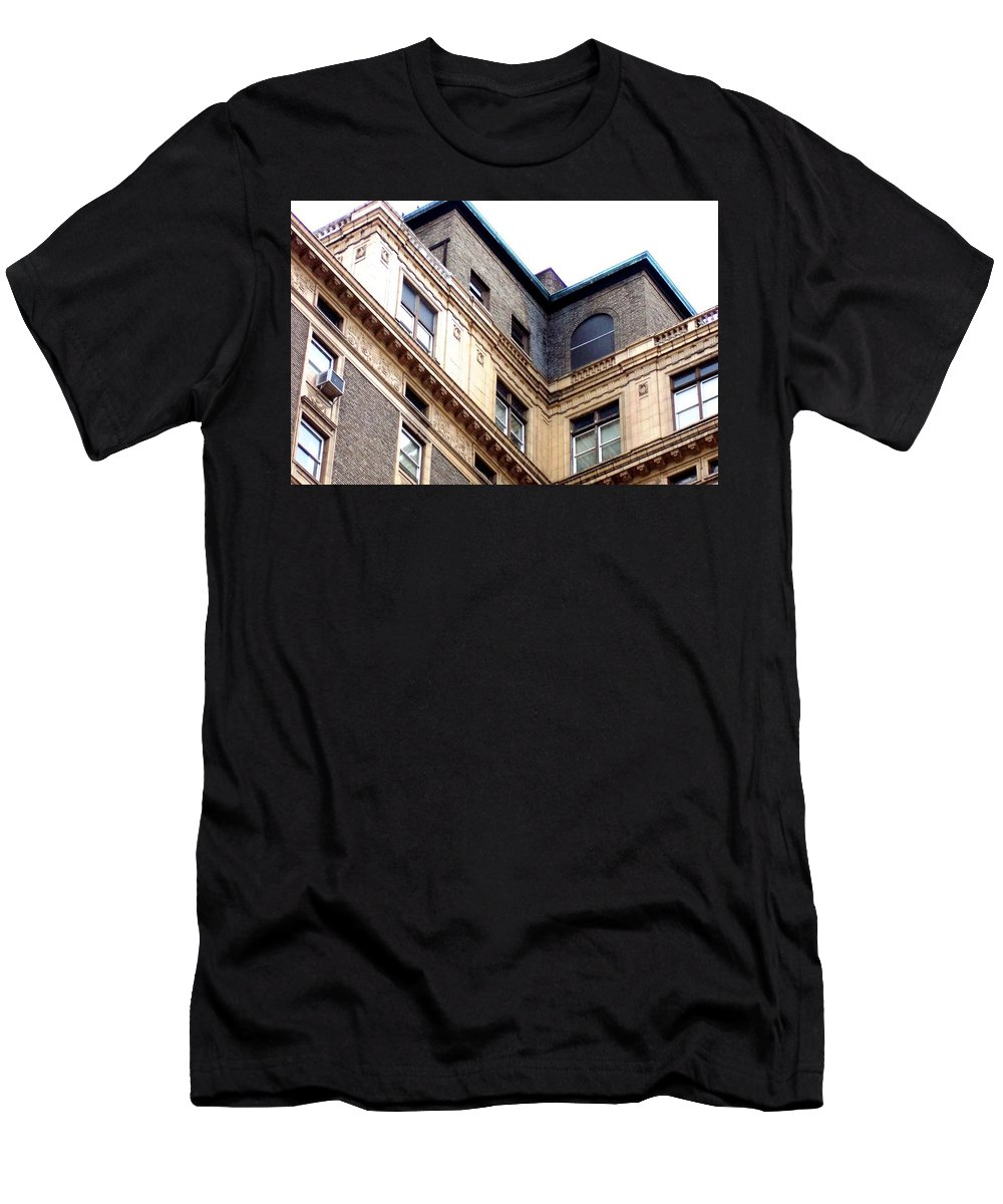 Building Men's T-Shirt (Athletic Fit) featuring the photograph Winthrop Hotel Tacoma Wa by Linda Chambers