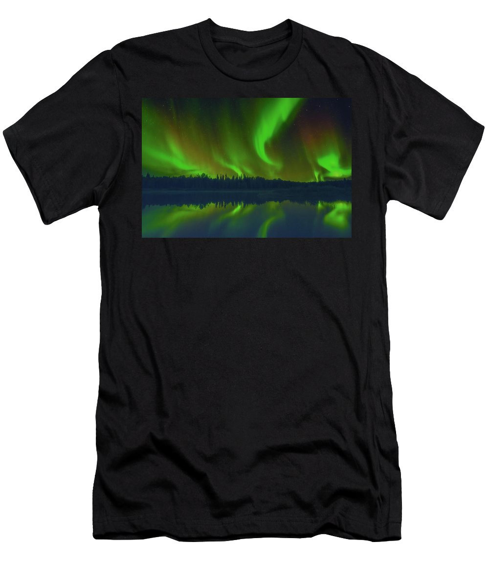 Northern Light Men's T-Shirt (Athletic Fit) featuring the photograph Witchy Woman by Patricia Dennis