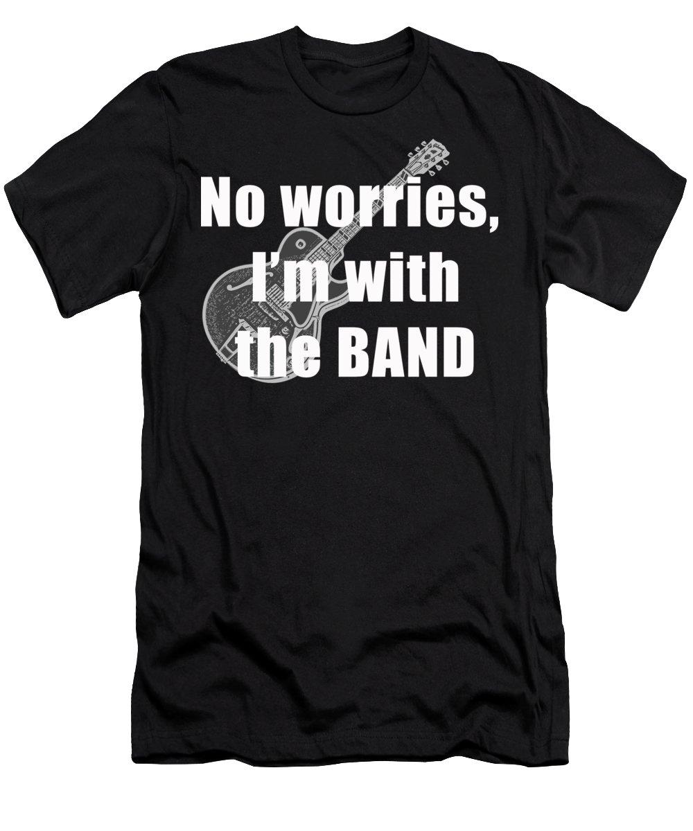Guitar Slim Fit T-Shirts