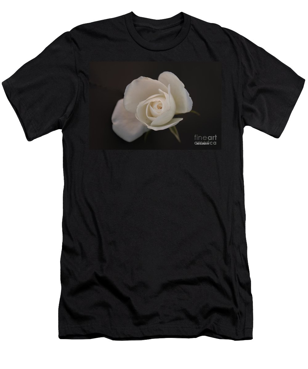 Rose Men's T-Shirt (Athletic Fit) featuring the photograph Wonder by Shelley Jones
