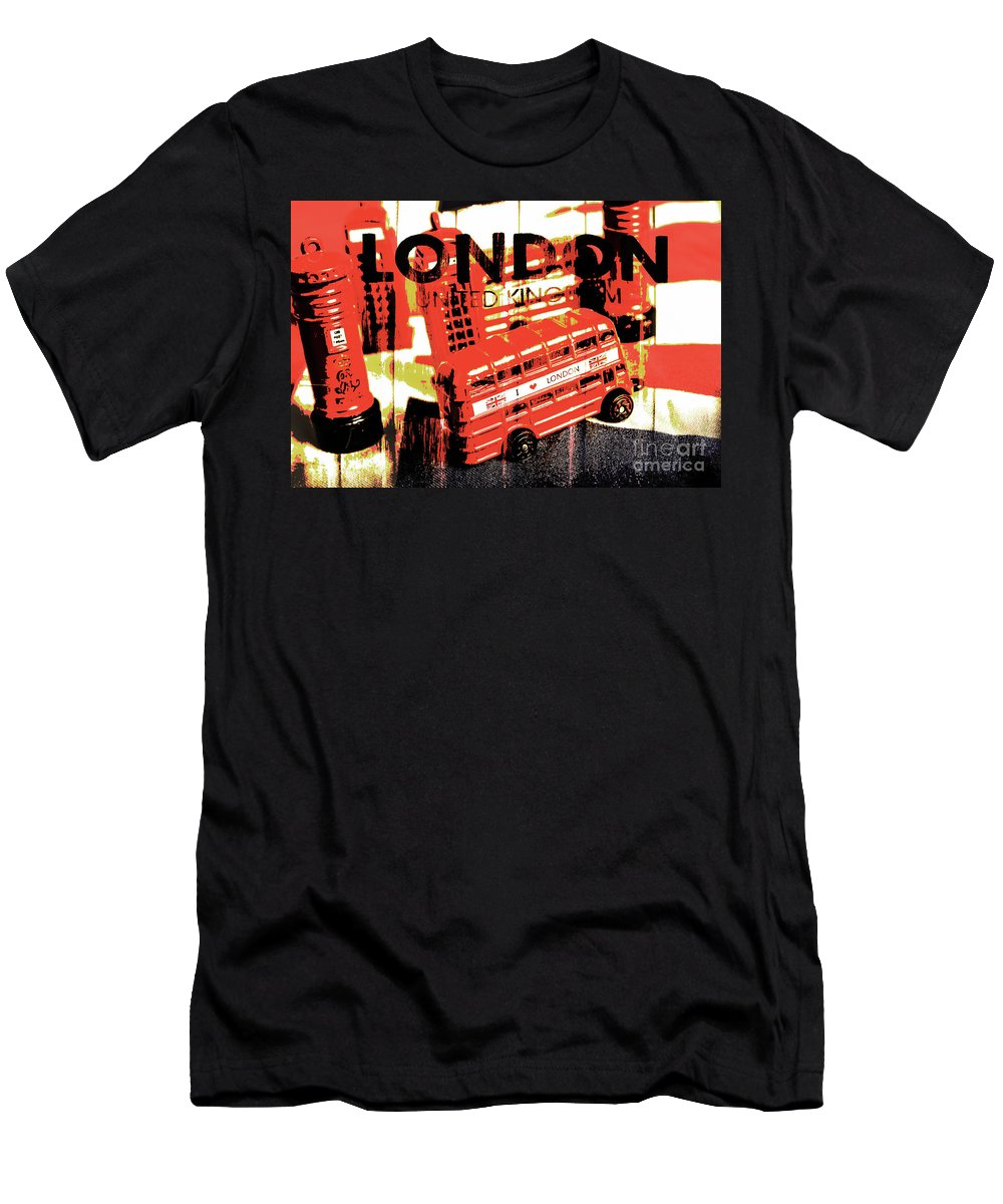 London Men's T-Shirt (Athletic Fit) featuring the photograph Wonders Of London by Jorgo Photography - Wall Art Gallery