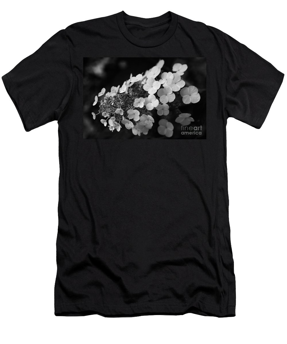 Hydrangea Men's T-Shirt (Athletic Fit) featuring the photograph Working Together by Amanda Barcon