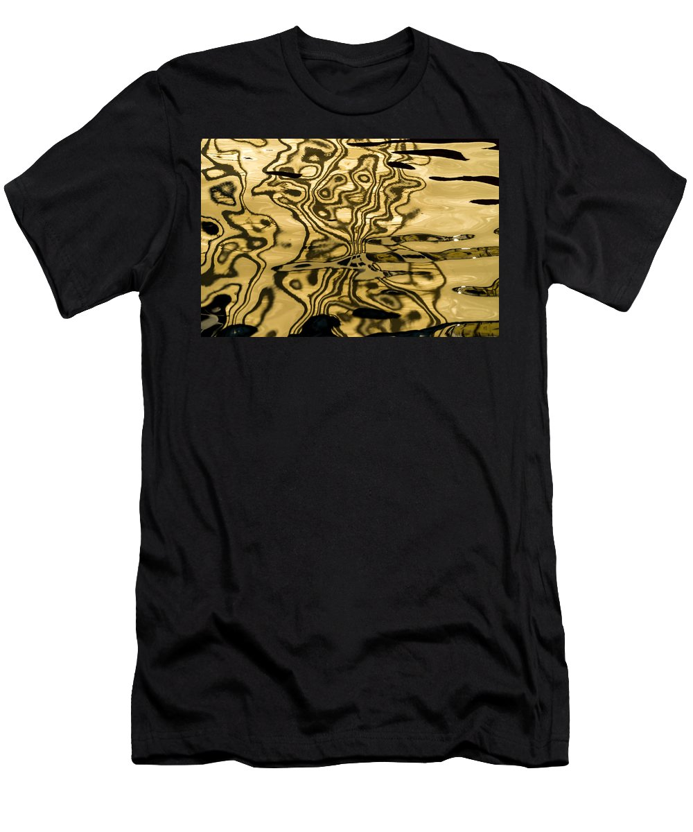 Photography Men's T-Shirt (Athletic Fit) featuring the photograph Works Of The Journey I11 by Andreas Theologitis