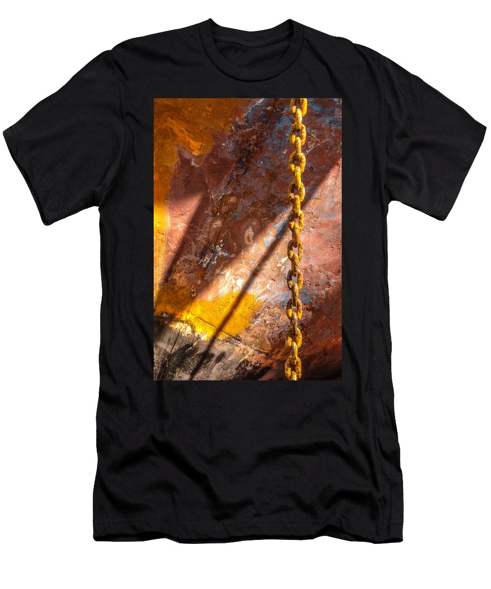 Photography Men's T-Shirt (Athletic Fit) featuring the photograph Works Of The Journey II14 by Andreas Theologitis