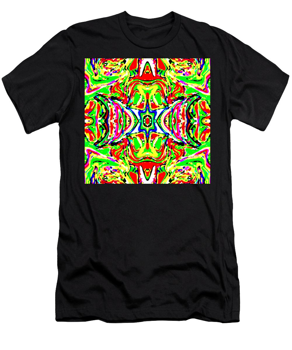 Art Men's T-Shirt (Athletic Fit) featuring the digital art Wyver by Blind Ape Art