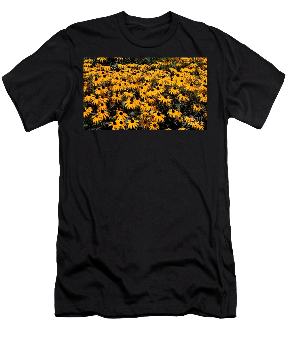 Digital Photo Men's T-Shirt (Athletic Fit) featuring the photograph Yellow Is The Color Of ..... by David Lane