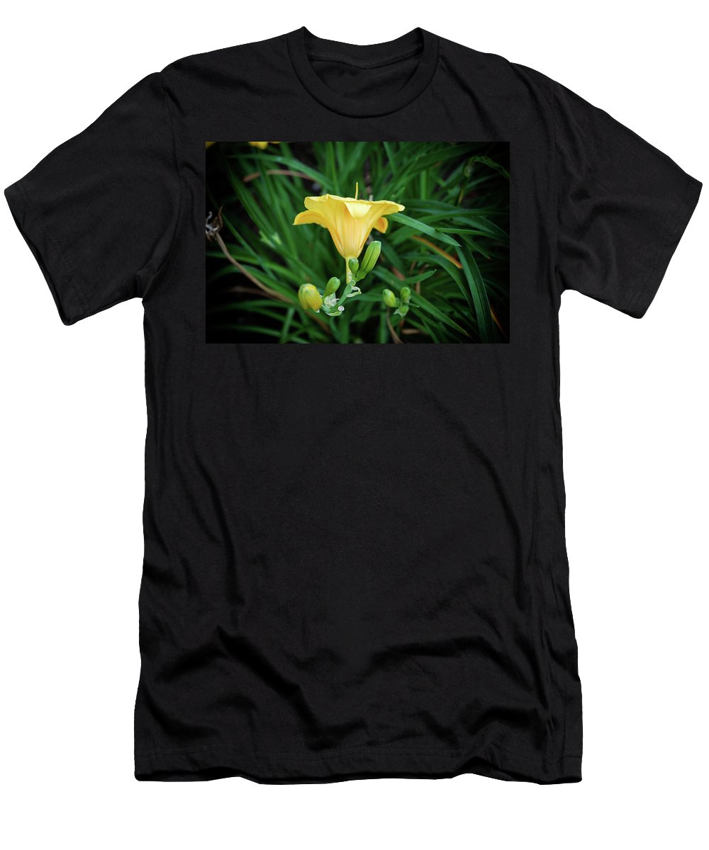Men's T-Shirt (Athletic Fit) featuring the photograph Yellow by Marvin Borst