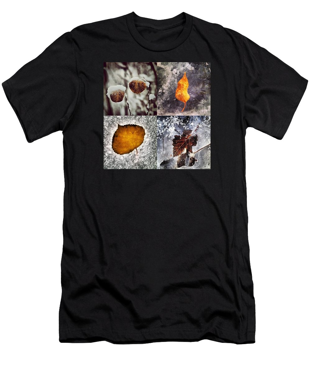 Colorado Men's T-Shirt (Athletic Fit) featuring the photograph Yesterday by Bob Berwyn