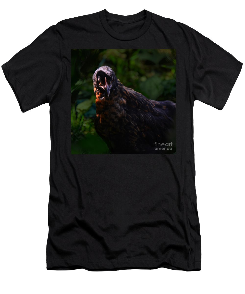Photography By Paul Davenport Men's T-Shirt (Athletic Fit) featuring the photograph You Want A Piece Of Me? by Paul Davenport