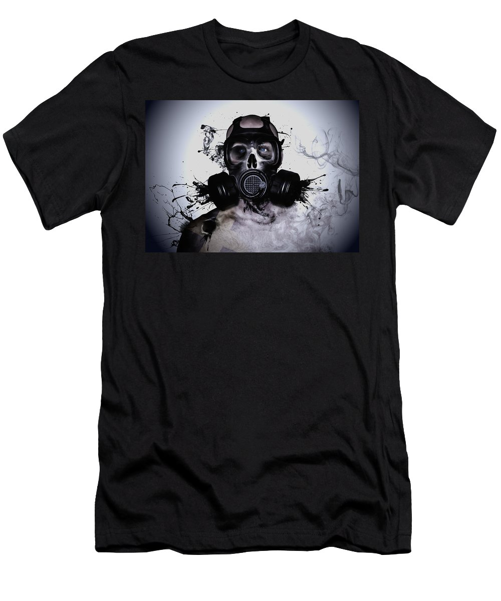 Zombie T-Shirt featuring the photograph Zombie Warrior by Nicklas Gustafsson