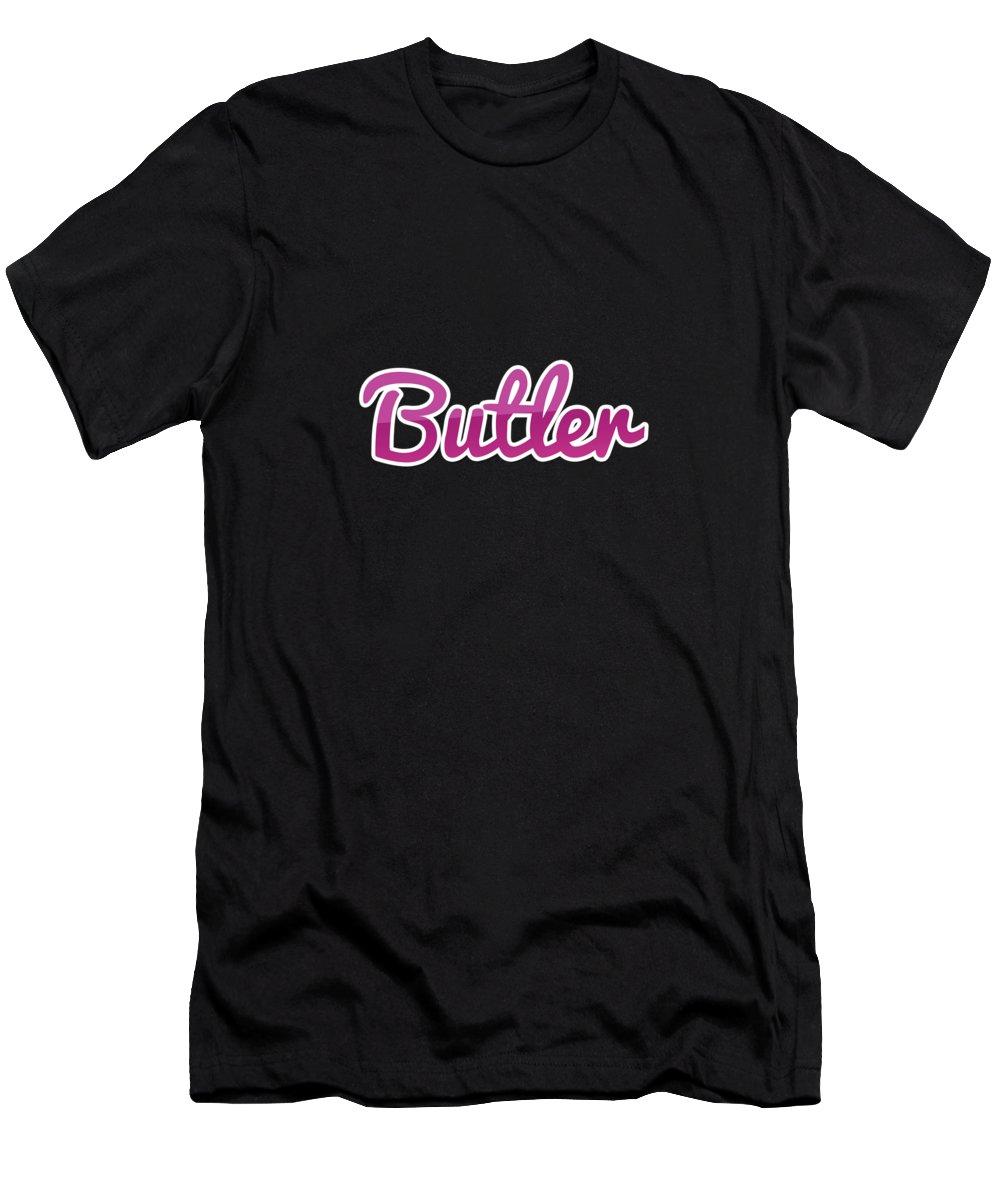 Butler Digital Art T-Shirts