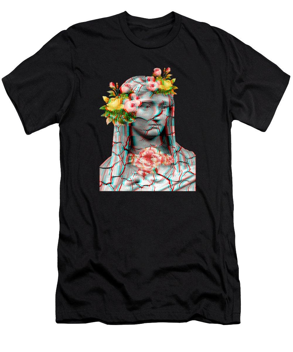 Cool Vaporwave Marble Greek Statue Gift 80s 90s Otaku Design Men's T-Shirt  (Athletic Fit)