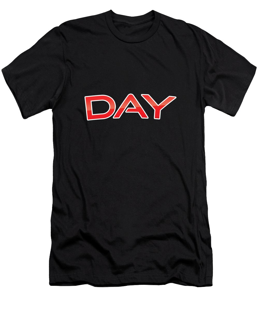 Day Men's T-Shirt (Athletic Fit) featuring the digital art Day by TintoDesigns